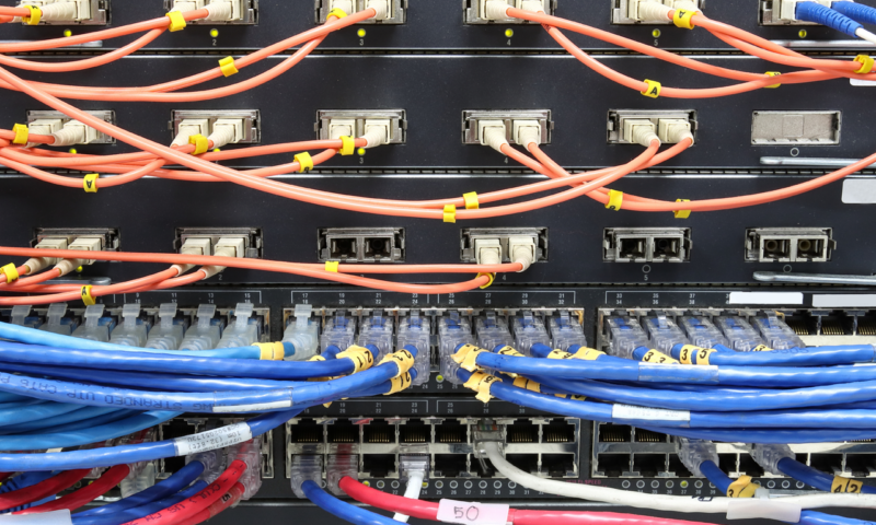 Wires in Server Racks